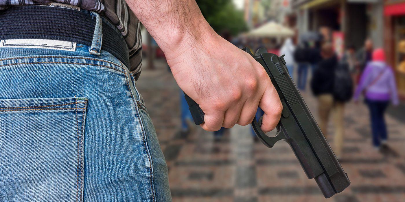 Gun at mall Large